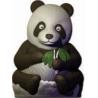 Molde de chocolate Oso Panda