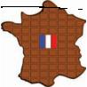 Molde Tableta de chocolate Francia