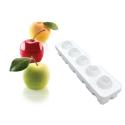 Comprar Molde 5 Frutas Manzana Melocotón y Cereza en Silicona Profesional