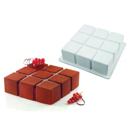 Comprar Molde Cubik Cuadrado en Silicona
