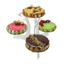 Comprar Expositor Tartas en Plexiglás 4 Platos Profesional