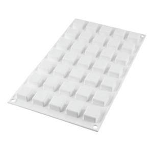 Molde de Silicona 35 Micro Cuadrados