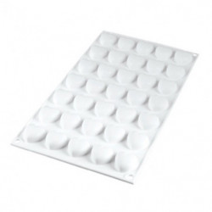 Molde de Silicona 35 Micro Corazones