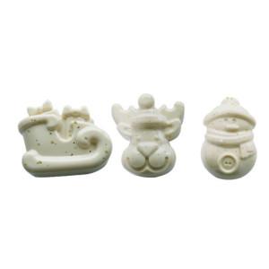 Molde Silicona ChocoWinter Figuras Navidad