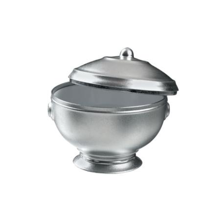 Comprar Mini Sopera Aperitivos Aluminio/Blanco (24 y 120 ud.)