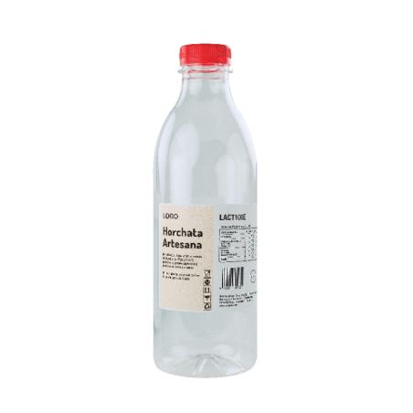 Comprar Botella Plástico Etiquetada 1000 ml. (48 ud.)