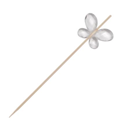 Comprar Brocheta Bambú Mariposa (200 y 4000 ud.)