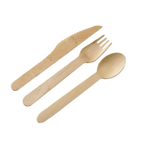 Comprar Set 3 Cubiertos de Bambú + Servilleta (50 ud.)
