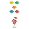 Sombrillas de Papel para Bebidas (144 ud.)