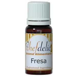 Comprar Aroma de Fresa Sin Gluten 10 ml. Chefdelice