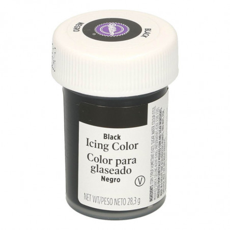 Comprar Colorante Gel Negro Wilton 28 gr.