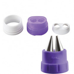 Set Adaptador de Boquilla Duo Wilton
