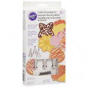 Comprar Set Decoración Galletas 12 ud. Wilton Profesional