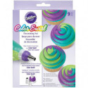 Comprar Set Decoración ColorSwirl Adaptador Tricolor  Wilton Profesional