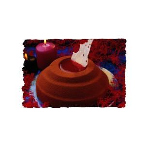 Comprar Molde Redondo Volcán de Plástico Rígido