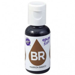 Comprar Colorante Líquido Marrón Right Wilton 19 ml.