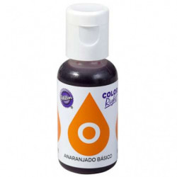 Comprar Colorante Líquido Naranja Right Wilton 19 ml.
