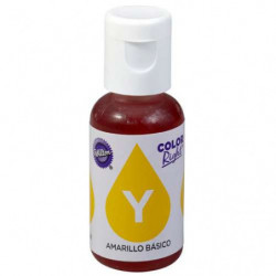 Comprar Colorante Líquido Amarillo Right Wilton 19 ml.