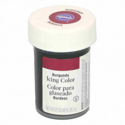 Comprar Colorante Gel Burgundy Wilton 28 gr.