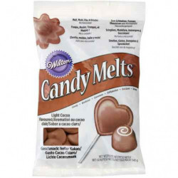 Candy Melts Cacao Light 340 gr. Wilton