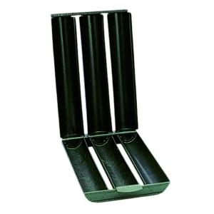 Comprar Molde Triple para Pan Redondo en Acero Azul