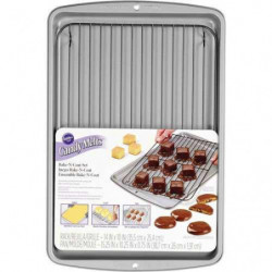Set Bandeja y Rejilla Horneado Candy Melts Wilton