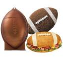Comprar Molde Bizcocho con Forma Balón Fútbol Americano Wilton Profesional