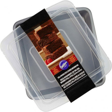 Comprar Molde Brownie con Tapa Wilton