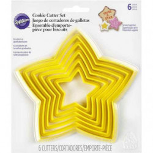 Comprar Cortador Galletas Estrella 6 ud. Wilton