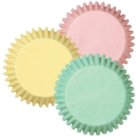Comprar Cápsulas Hornear Surtido Colores Pastel 75 ud. Wilton