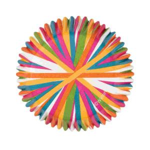 Cápsulas Hornear Rueda Colores 75 ud. Wilton