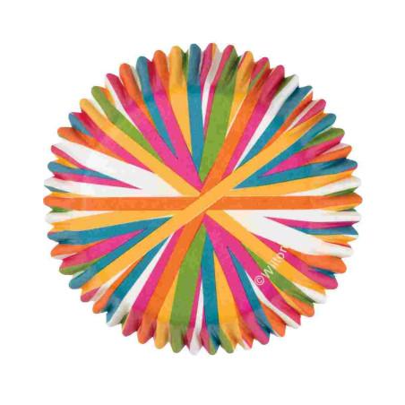 Comprar Cápsulas Hornear Rueda Colores 75 ud. Wilton