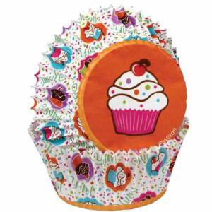 Cápsulas Hornear Fiesta de Cupcakes 75 ud. Wilton