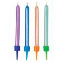 Comprar Vela Celebración Multicolor 10 ud. Wilton Profesional