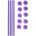 Comprar Pilar Y Tapas Plástico para Tarta de Pisos Wilton Profesional