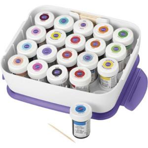 Comprar Caja Organizador Colorantes Glaseado Wilton
