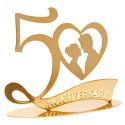 Comprar 50 Aniversario Metal Oro 2 ud. Profesional