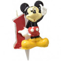 Comprar Vela Celebración Nº 1 Mickey Display 8 ud. Profesional