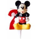 Comprar Vela Celebración Nº 2 Mickey Display 8 ud. Profesional