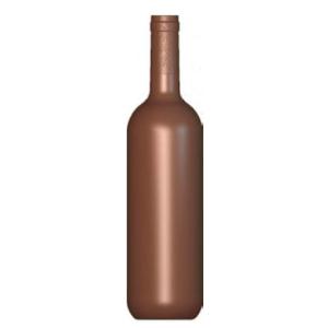 Molde de Chocolate Botella Bordeaux