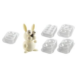 Comprar Molde Bizcocho Kit Conejo Bunny