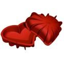 Comprar Molde de Silicona con Forma de Corazón Bomba Profesional