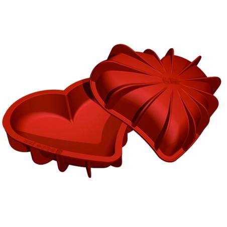 Comprar Molde de Silicona con Forma de Corazón Bomba