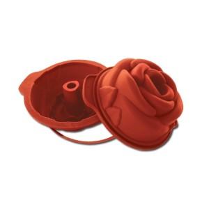 Molde de Silicona con Forma de Capullo de Rosa