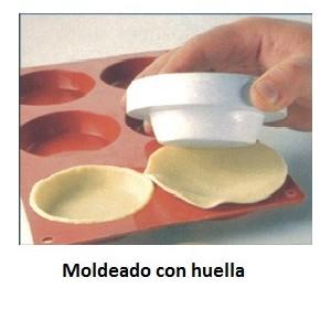 Comprar Huella de silicona para Tartaleta