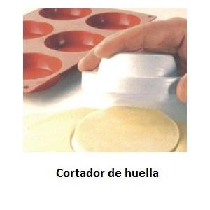 Huella de silicona para Tartaleta