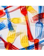 Tenedores de Plástico Profesionales