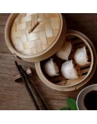Vaporeras de bambú Profesionales