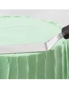 Espátulas melamina y silicona para Pasteleria Profesionales