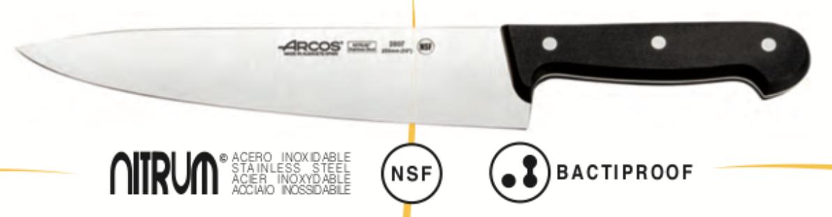 Cuchillos de Cocina Arcos de Acero Inoxidable Profesionales